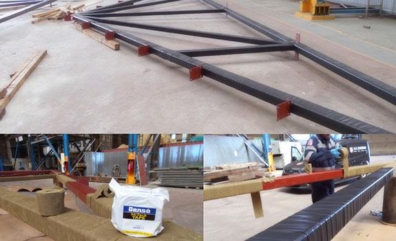 The AV Dawson Potash Storage Shed project