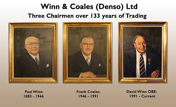 The Denso Chairmen's Hall of Fame.
