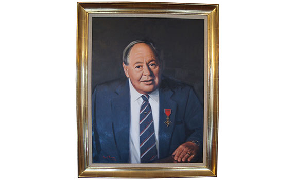 Winn & Coales International Group Chairman – Mr David Winn O.B.E.