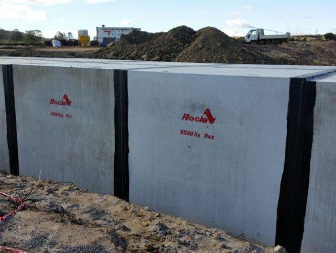Densostrip External Concrete Joint Sealing System for sealing precast concrete units
