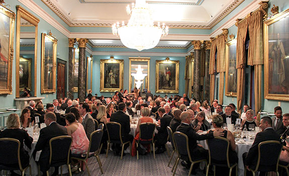 The Farewell Dinner held at The Institute of Directors.