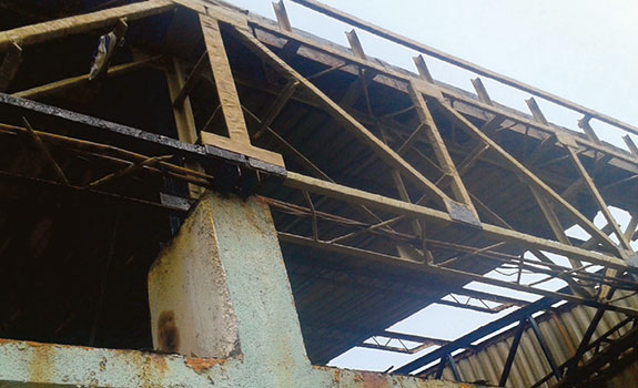 Densyl Tape - India - Structural Steel Roof