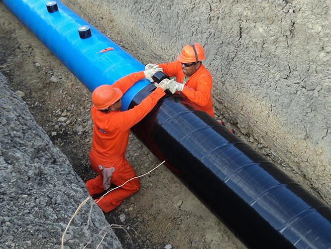 Viscotaq visco-elastic coating